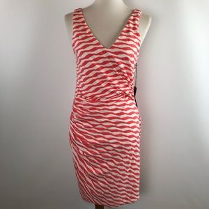 41 Hawthorn Womens Ernesto Striped Fitted dress